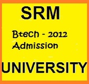 Btech admission in SRM University Chennai in management quota 2013