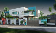 Sirmaur 3d Bungalow rendering services 102#