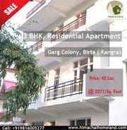 3 BHK Flat in Kangra ,  Residential Apartment for Sale in Kangra