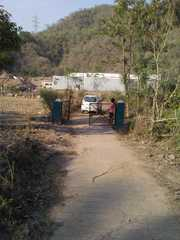 A farm along with built up structure for sale.